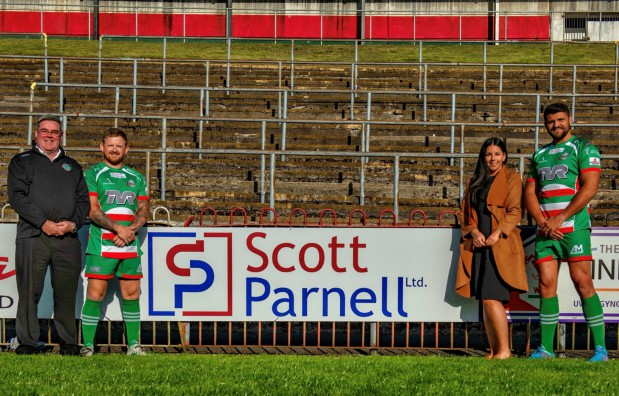 Ebbw Vale RFC agrees sponsorship with Scott Parnell Wales