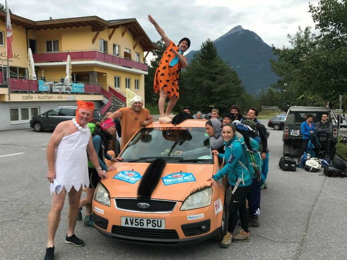 Scott Parnell team taking on road-trip  rally for charity