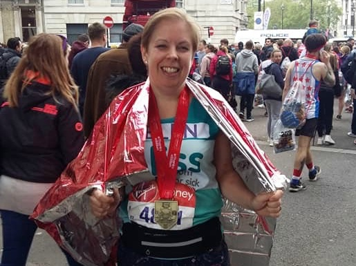 Scott Parnell employee completes London Marathon in memory of daughter